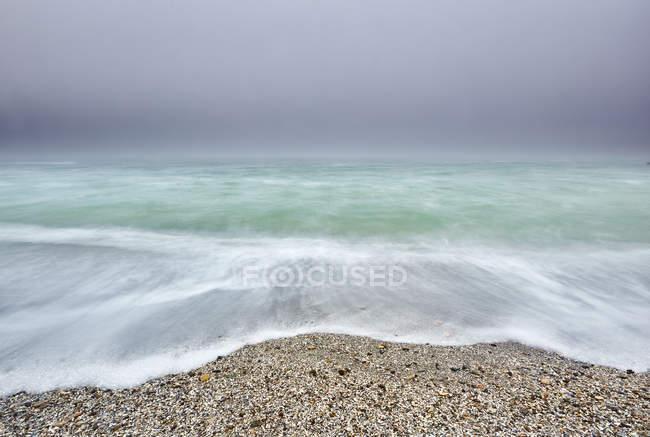 Belo litoral e o mar Negro, Odessa, Ucrânia — Fotografia de Stock