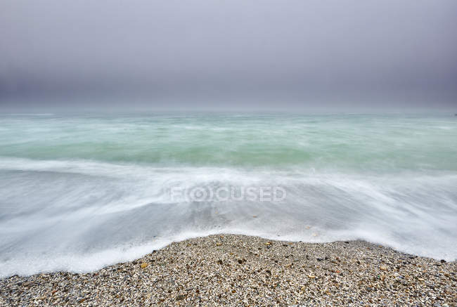 Beautiful coastline and Black sea, Odesa, Ukraine — Stock Photo