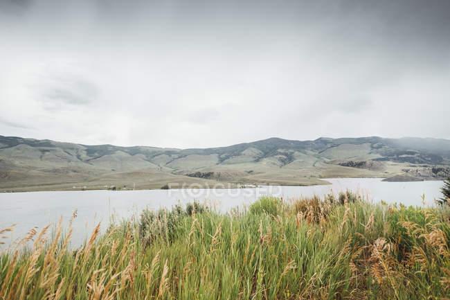 Vista panorâmica de Dillon Reservoir, Silverthorne, Colorado, EUA — Fotografia de Stock