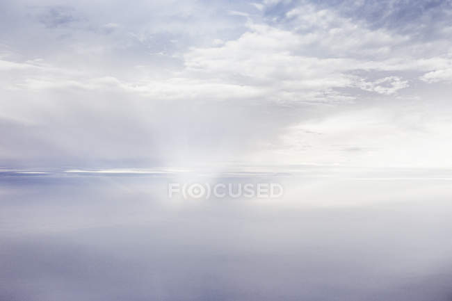Aerial view of ethereal cloudscape — Stock Photo