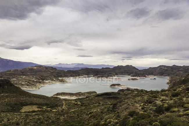 Général Carrera Lake, région d'Aysen, Chili, Amérique du Sud — Photo de stock