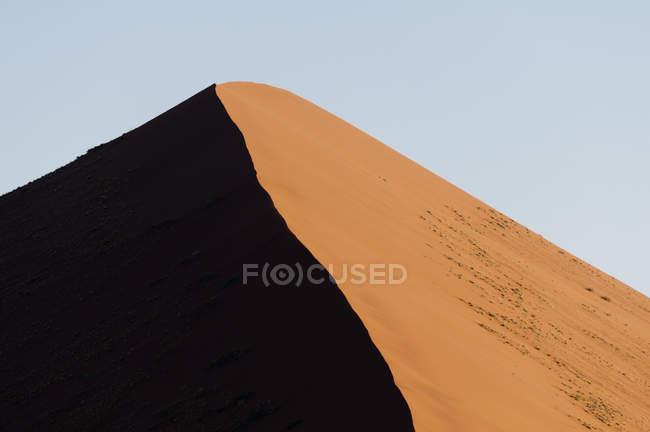 Sand dune, Sossusvlei, Namib Naukluft Park, Namib Desert, Namibia — Stock Photo