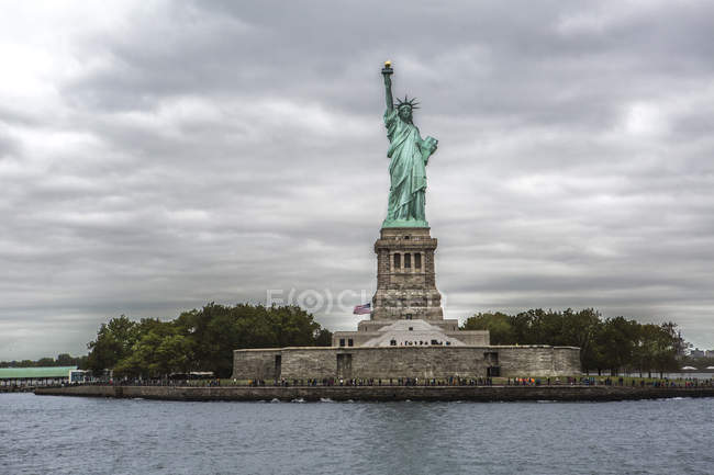 Statue Of Liberty New York City New York Usa Green