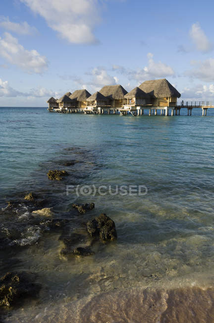 Pearl Beach Resort, Tikehau, Tuamotu Archipelago, French Polynesia — Stock Photo