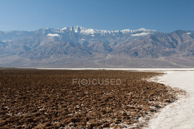 Badwater Basin, Death Valley, Californie, États-Unis — Photo de stock