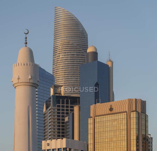 Абу-Даби, Объединенные Арабские Эмираты, Азия — стоковое фото