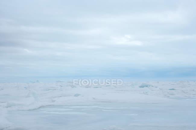 Fluxo de gelo e glaciares da Gronelândia — Fotografia de Stock