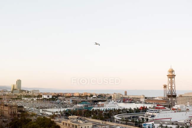 Cityscape, Barcelona, Catalonia, Spain — Stock Photo