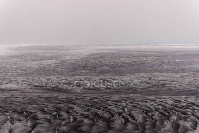 Veduta della calotta glaciale nella Groenlandia meridionale — Foto stock