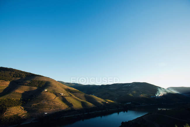 Elevated view of River Douro, Portugal — Stock Photo