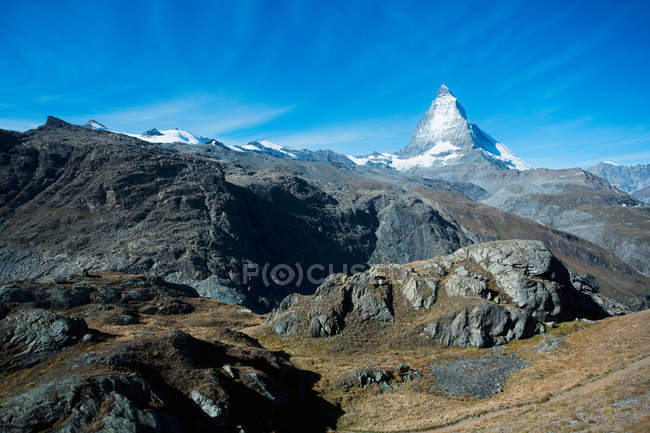 Matterhorn, Pennine Alps, Switzerland — Stock Photo