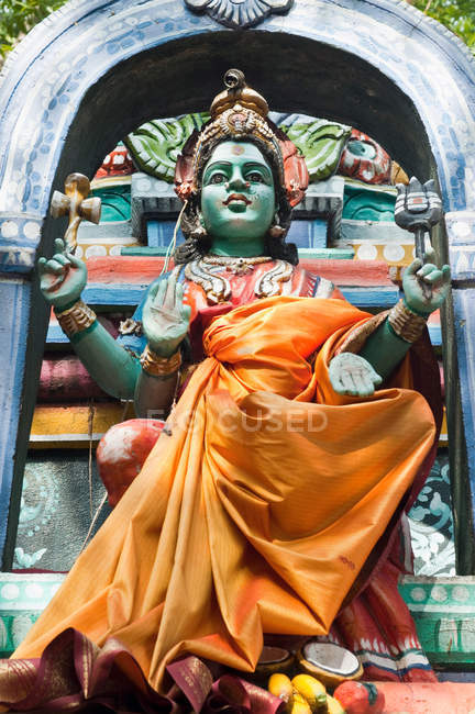 Statue von Shiva, hinduistischem Gott, Kerala — Stockfoto
