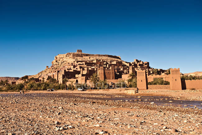 Ait-Ben-Haddou, Morocco, North Africa — Stock Photo
