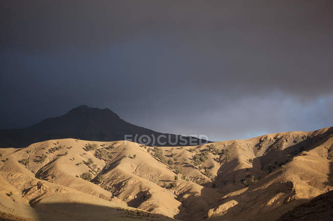 Mountain scenery, Morocco, North Africa — Stock Photo