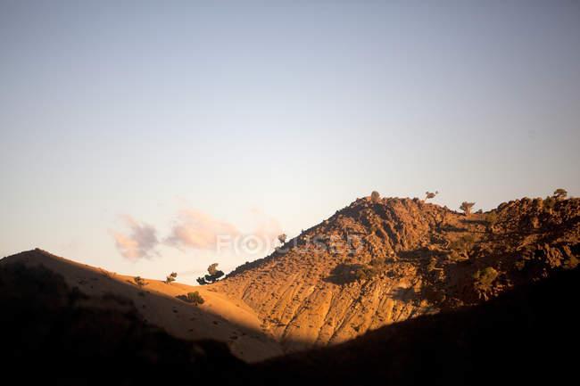 Гірські пейзажі, Марокко, Північна Африка — стокове фото