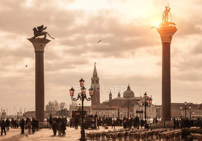 Piazza san marco, venise, italie — Photo de stock