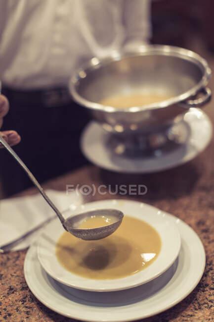 Традиційний суп Луксор (Єгипет). — стокове фото
