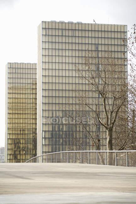 Biblioteca nazionale di Francia, Bercy, Parigi, Francia — Foto stock