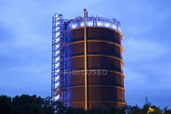 Gasometer, Oberhausen, Región del Ruhr, Alemania - foto de stock