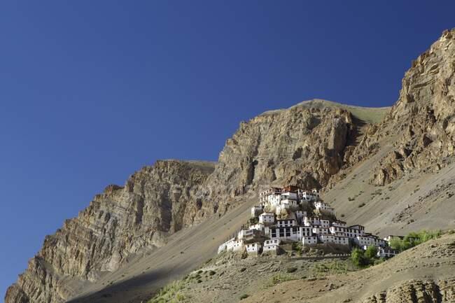 Ki Gompa Monastery, Himachal Pradesh, India, Asia — Stock Photo