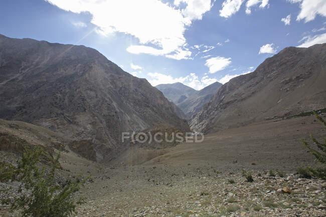 Spiti river valley, Nako, Himachal Pradesh, India, Asia — Stock Photo