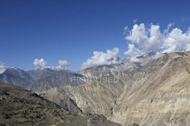 Spiti river valley, Kaza, Himachal Pradesh, India, Asia — Stock Photo