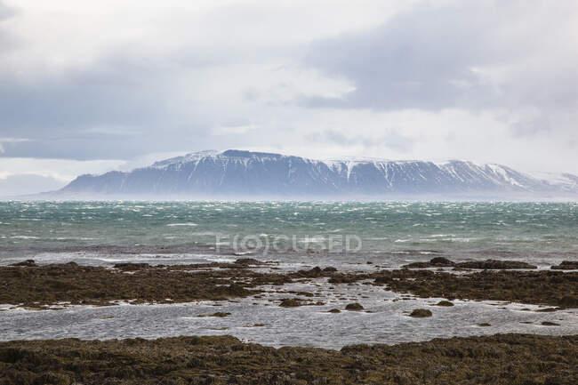 Гірський хребет Еша від півострова Селтджарнарнес, Рейк
