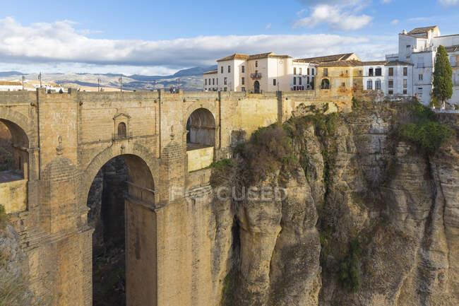 Puente Nuevo, Ronda, España - foto de stock