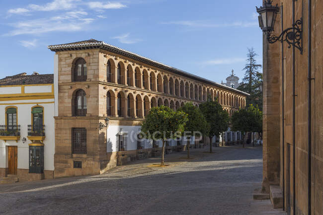 Plaza Duquesa de Parcent, Ronda, España - foto de stock