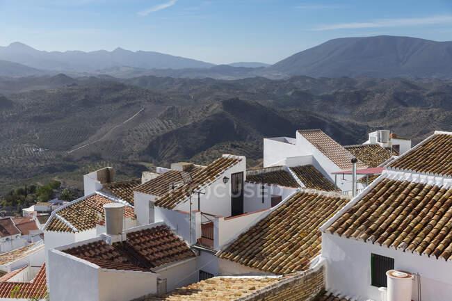 Landscape Olvera, Andalusia, Spain — Foto stock