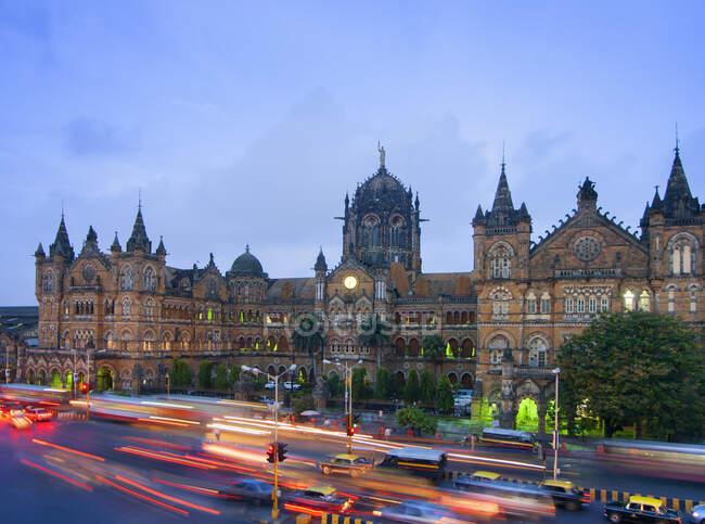 Victoria Terminus, Mumbai, India — Stock Photo