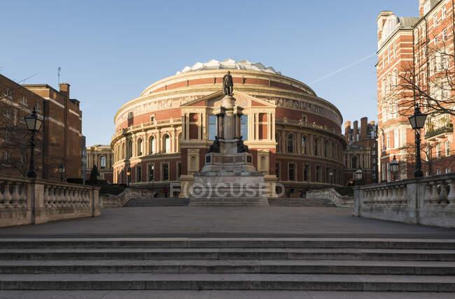 Extérieur du Royal Albert Hall, Londres, Angleterre — Photo de stock