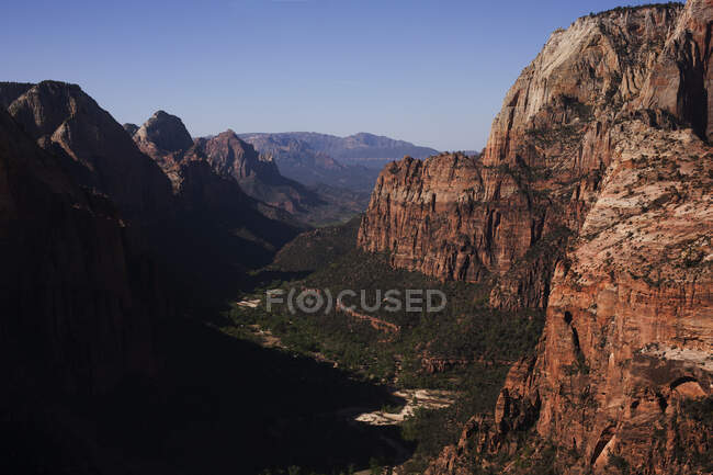 Zion Canyon, Zion National Park, Utah, USA — Stock Photo