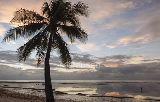 Анда Біч на заході сонця, острів Бохол, Вісаяс, Філіппіни. — стокове фото