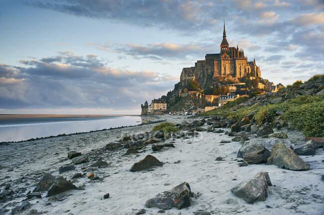Мон-Сен-Мишель, Норфеи, Франция — стоковое фото