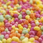 Close-up view of colorful cereals. — Stock Photo