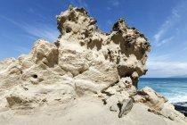 Rocce di arenaria con erosione — Foto stock