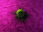 Произведения искусства раковых клеток — стоковое фото