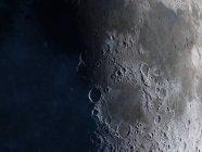 Satellite view of Moon — Stock Photo