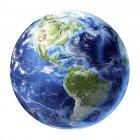 Вид со спутника из Америки — стоковое фото