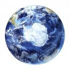 Вид со спутника Антарктики — стоковое фото