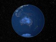 Terre vue de l'espace — Photo de stock