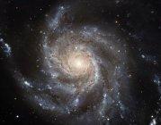 Galaxia espiral M101, imagen del Telescopio Espacial Hubble. M101 también se conoce como la Galaxia Pinwheel . - foto de stock