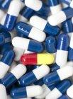 Variedade de pílulas diferentes — Fotografia de Stock