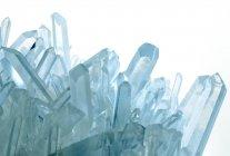Структура кристалів кварцу — стокове фото