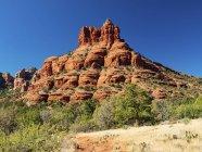 Живописный вид на Кэтти-Рок, парк Red Rock State Park, Седона, Аризона, США . — стоковое фото