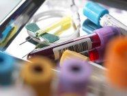 Échantillons médicaux — Photo de stock