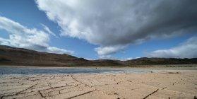 Fissuré, boue séchée, Islande. — Photo de stock