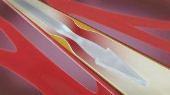 Illustration 3d de l'artère resserrée et rétrécie tandis que l'artériosclérose. — Photo de stock
