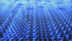 Hoja gráfica, ilustración digital abstracta . - foto de stock